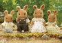 Dappledawn Rabbit Family