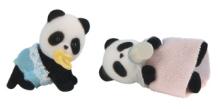 Bamboo Panda Twins