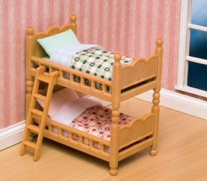 Brown Bunk Beds