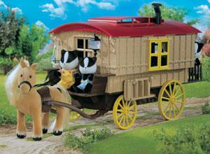 Caravan & Pony