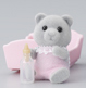Evergreen Grey Bear Baby Girl