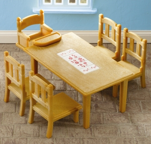 Family Dining Table &amp; Baby Chair