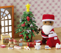 Father Christmas & Tree Set