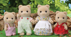 Honeybear Tan Bear Family