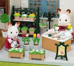 Ornate Garden Shop Set