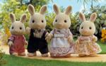 Periwinkle Rabbit Family