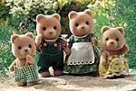 Petite Bear Family