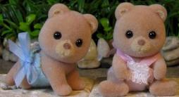 Petite Bear Twins