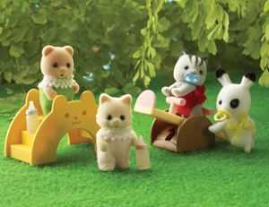 Rainbow Nursery Figure Set