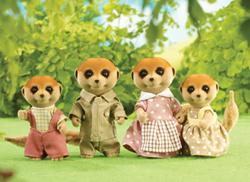 Spotter Meerkat Family
