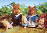 Truffle Wild Boar Family