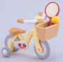 Yellow Bicycle with Stabilisers