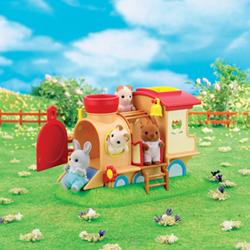 Sylvanian Family Baby Train Play House