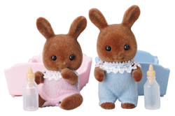 Sylvanian Families Brown Rabbit Baby