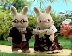 Sylvanian Families Buttermilk Rabbit Grandparents