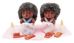 Sylvanian Family Hedgehog Baby