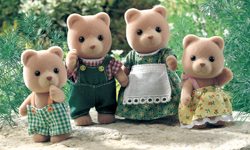Sylvanian Family Little Bear Family