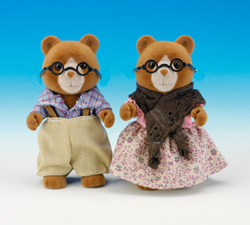 Sylvanian Family Marmalade Bear Grandparents