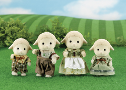 Sylvanian Family Sheep Family