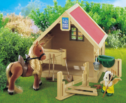 Sylvanian Family Stable and Pony